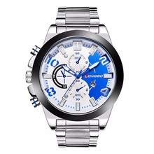 Smart fashion casual sport watches for men with Nylon or steel strap alternatively