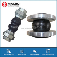 Flange union type floor/bridge/steam expansion joints