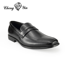 New York Germany Wholesale Leather Officer Business Slip Resistant Shoes for Men