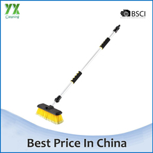 Extendable Long Handled Car Washing Brush Water Flow