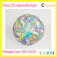 OEM LOGO printed beach ball sitting for promotional