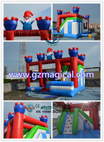 inflatable Christmas jumping castle inflatable bounce inflatable castle
