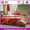100% polyester print fabric bright color wholesale disperse bed sets and quilt cover thousands of designs made in China