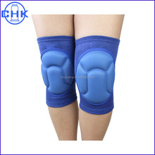 Custom knee compression sleeve with protective pads
