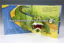 China Factory high quality handmade children pop-up book