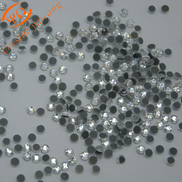 Wholesale clear lead free korean hotfix rhinestone <strong>crystal</strong> SS20 in bulk