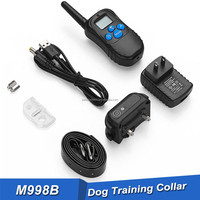 2017 new trendy pet training products remote train dog collar