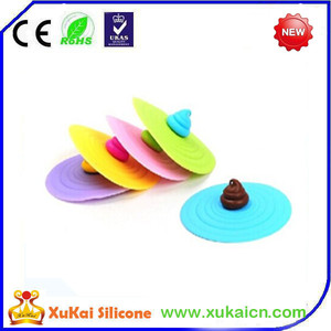 Cheap colorful ice cream design lids for yogurt cup