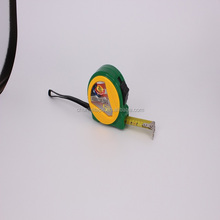 0.1mm3m 5m 7.5m tape measure meter green color measuring tape made waterproof tape measure