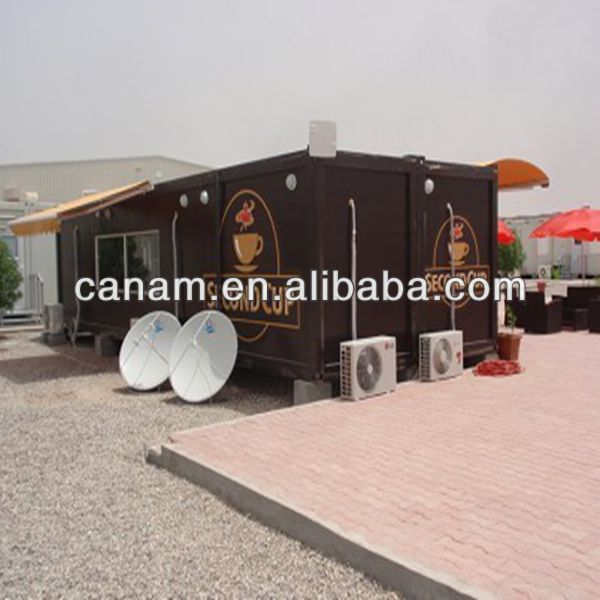 Prefab Fast Install Ready-made Demountable shipping Container Coffee Bar