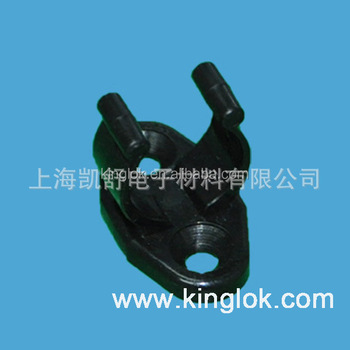 Plastic Saddle Tube Clamps Nylon cable clips mounts wire mount plastic wire clip Screw Mountable Tube Clamp