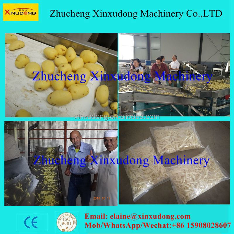 full automatic french fries production line,french fries processing machine
