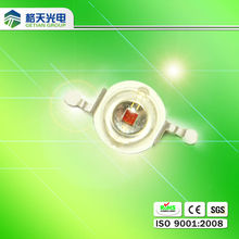 1w red led 620-630nm from professional manufacturer