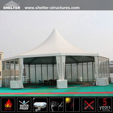 Factory price! polygon outdoor pavillion tent