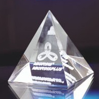 Crystal Color Printing Pyramid