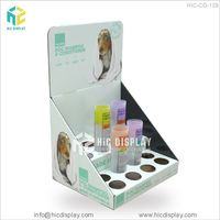 HIC Free Sample POP Up Cardboard Pet Shop Shower Gel Point of Sale Display Stand