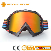 2016 best stylish red tinted mirror lens motorcycle motocross eyewear