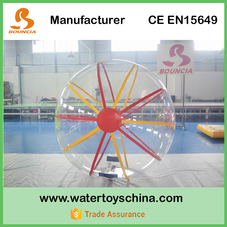 0.8mm PVC Inflatable Water Running Ball For Water Games