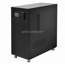 Custom Single Phase High Frequency Online 5000 watt Ups for Computer with LCD Screen Display