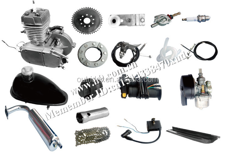 Hot sale!ORK-POWERG High-Tech New 2 stroke 80cc motorized bicycle kit gas engine