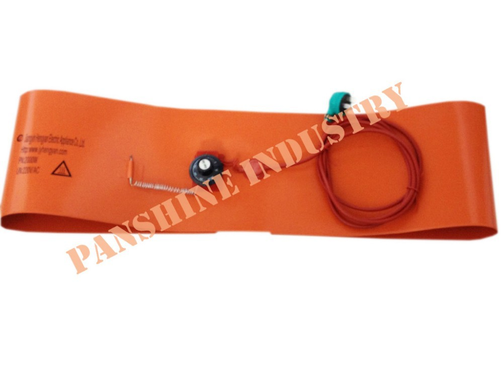 silicone Drum heating band for orchard heater with PU foam