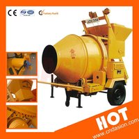 Top quantity JZC350 mobile electric concretet mixer sale in Indonesia
