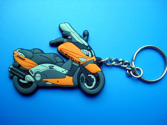 customized soft pvc motorcycle keychains dongguan, custom pvc keychain