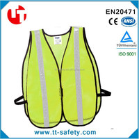 High Visibility PVC Reflective Protective mesh Safety Clothing