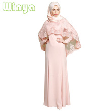 Wholesales Latest Long Ladies <strong>Muslim</strong> Women <strong>Abaya</strong> Designs Dress With Hijab