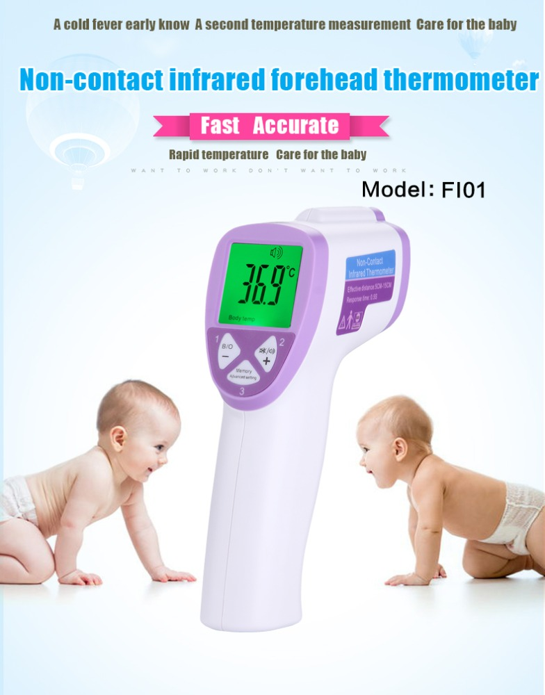 best thermometer for adults Digital non-contact body infrared thermometer