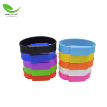 High Speed USB Silicone Wristband Bracelet USB 3.0 Memory Stick Pendrive Flash Drive