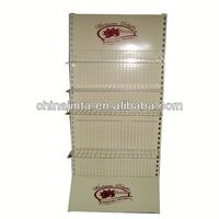 acrylic slatwall display/slat wall shelf/ wall shelf for shoe