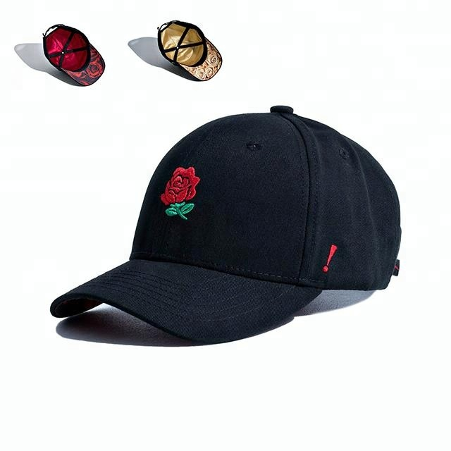 Guangjia embroidery promotional custom baseball sports caps hats with lining