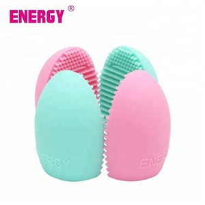 2018 beauty blender sponge Colorful Wholesale silicone brush makeup brush cleaner