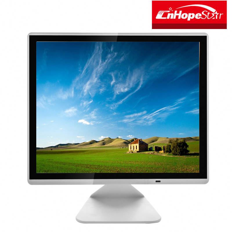 Cost effective 12 15 17 inch LCD Monitor with dvi hd