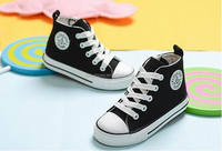 High sneaker canvas shoes for kids