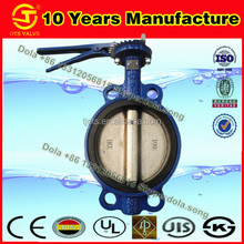 BV-DS140 handle EPDM lined butterfly valve 6 inch