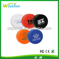 Customed Imprinted PU Hockey Puck Shaped anti-stress Reliever Ball foam squeeze ball --- Factory Directly