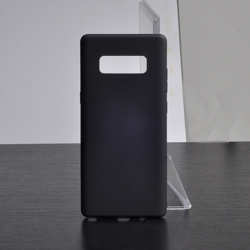 DFIFAN Elegant and simple moblie case for samsung galaxy note8, matte black phone case for samsung note 8