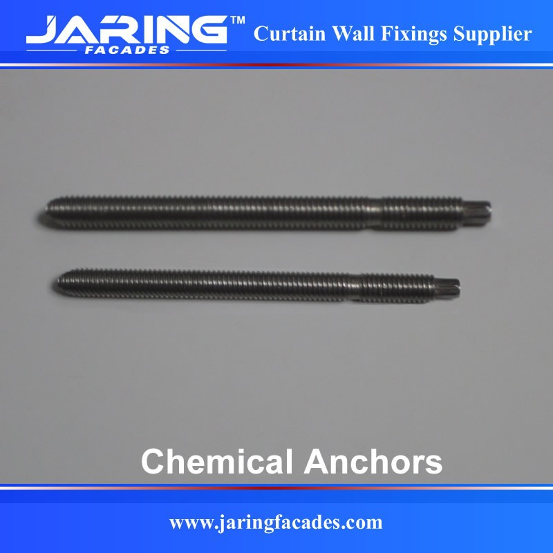 Stainless Steel AISI304/A2 Chemical Anchor for Wall Mounting M8 M10 M12