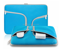 "Handy Zipper with Pockets / Compartments for All Laptop 11"" or above Laptop Notebook Sleeve"
