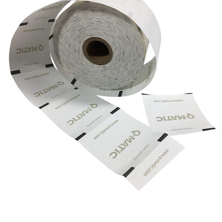 Sizes 60mmx100mm manufacturer Queue Customized <strong>Q</strong>-maticThermal paper rolls