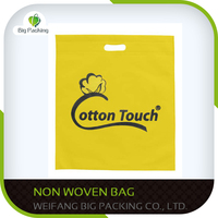 Customize Private lable reusable nonwoven bag pp non-woven shopping bag