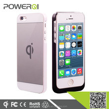 Qi standard wireless charging power receiver case for iPhone 5