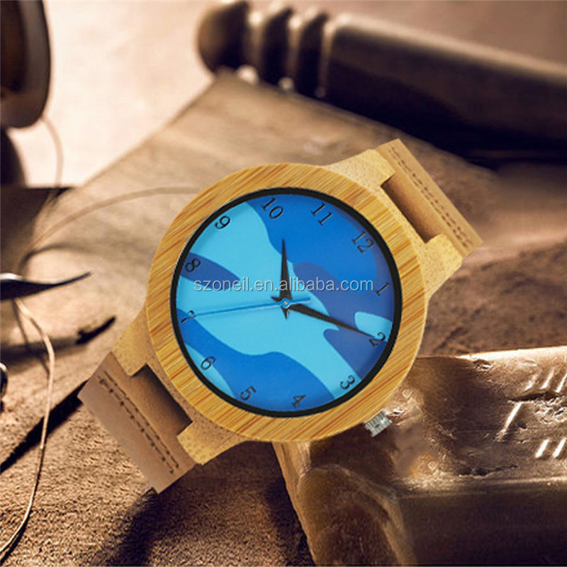 2017 newest design Wooden watch Various designs of fashionable wrist watch for men at reasonable prices