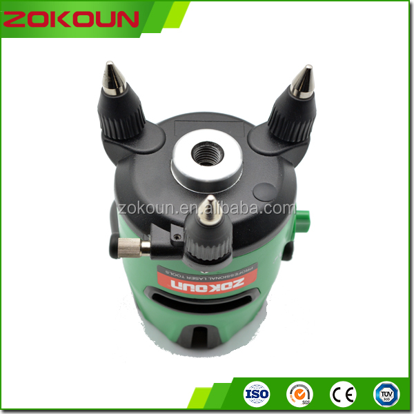 construction use rotation laser level, green laser pointer rotation laser level