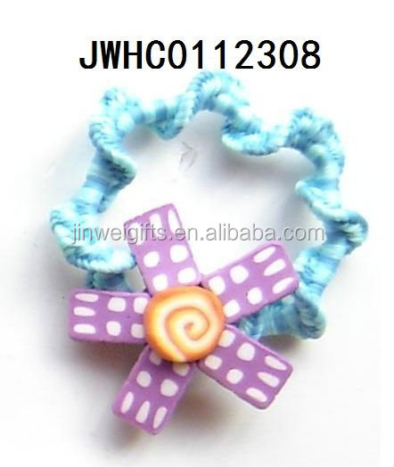 flower charm hair bands for kids dress up ornament