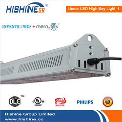 led linear light outdoor 150w with philips-chip and inventronics driver