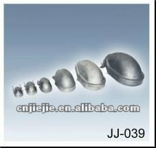 Clamp type weather resistant aluminum entrance caps for threads or unthreaded rigid conduit, IMC or EMT service mast