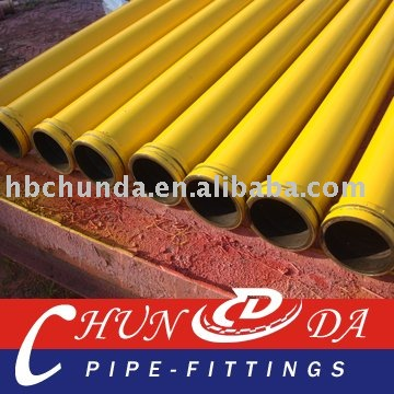 DN125(5.5'')*3m-45Mn2 Concrete Delivery Pipe for IHI Pump